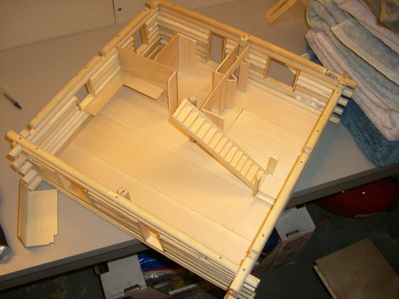 Model building john 39 s school site for Building model houses