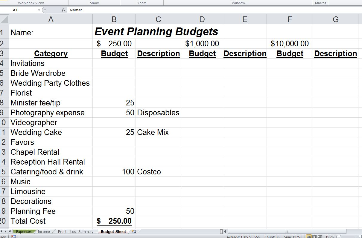 Excel Johns School Site – How to Write an Event Proposal